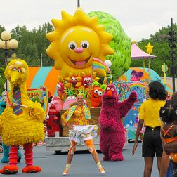 SESAME PLACE NEIGHBORHOOD STREET PARTY